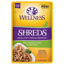 Healthy Indulgence Shreds Chicken and Turkey Cat Food