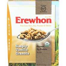 Organic Simply Vanilla Granola