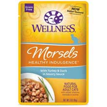 Healthy Indulgence Morsels Turkey and Duck Adult Cat Food