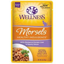 Healthy Indulgence Morsels Chicken Liver Adult Cat Food