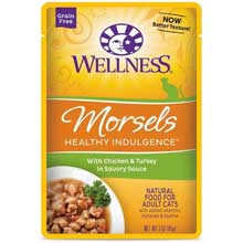 Healthy Indulgence Morsels Chicken and Turkey Adult Cat Food
