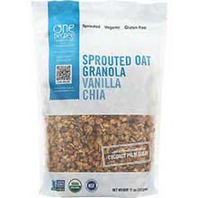 Organic Vanilla Chia Sprouted Oat Granola