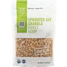 Organic Honey Hemp Sprouted Oat Granola