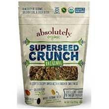 Gluten Free Organic Original Superseed Crunch Snacks