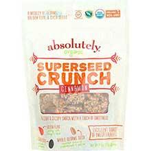 Gluten Free Organic Cinnamon Superseed Crunch Snacks