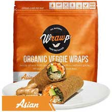 Organic Asian Veggie Wrap