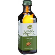 Simply Organic Almond Extract 4 Ounce
