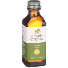 Simply Organic Lemon Flavor 2 Ounce