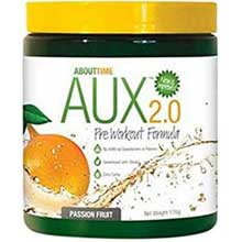 Auxiliary 2.0 Passion Fruit Pre Workout Formula Powder