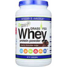 Creamy Chocolate Fudge Grass Fed Whey Protein Powder