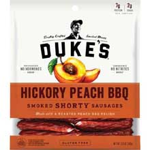 Hickory Peach BBQ Shorty Smoked Sausages