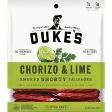Chorizo and Lime Shorty Smoked Sausage