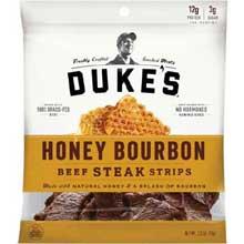 Honey Bourbon Beef Steak Strips