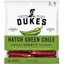 Hatch Green Chile Shorty Smoked Sausage 5 Ounce