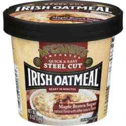 Maple Brown Sugar Irish Oatmeal