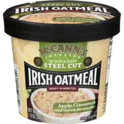 Apple Cinnamon Instant Irish Oatmeal Cup