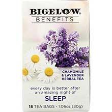 Benefits Sleep Chamomile and Lavender Herbal Tea