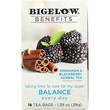 Benefits Balance Cinnamon Blackberry Herbal Tea