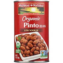 Westbrae Foods Organic Pinto Beans 25 Ounce