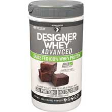 Advanced Grass Fed Chocolate Fudge Whey Protein Powder