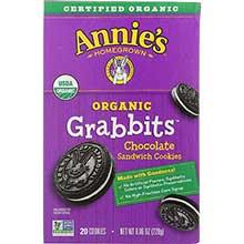 Organic Grabbits Chocolate Sandwich Cookie