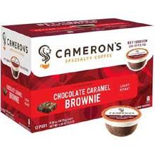 Chocolate Caramel Brownie Single Serve Coffee