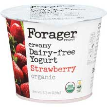 Organic Strawberry Creamy Yogurt