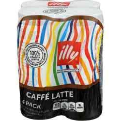 8.45 Fluid Ounce Latte Coffee Drink