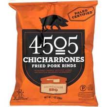 Smokehouse BBQ Fried Pork Rinds Chicharrones