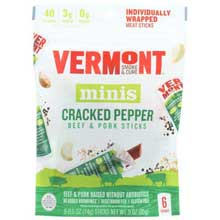 Cracked Pepper 0.5 Ounce Beef and Pork Sticks