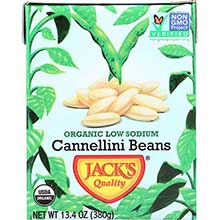 Organic Low Sodium Cannellini Beans