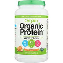 Organic Peanut Butter Protein Powder
