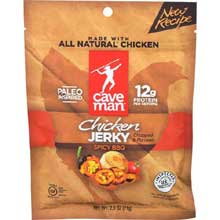 Spicy BBQ Chicken Jerky