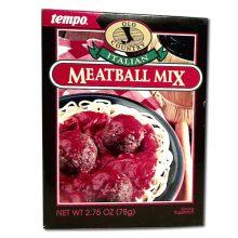 Tempo Meatball Mix Italian - 2.75 Oz Pack