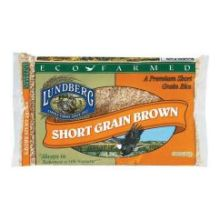 Lundberg Farms Eco Farmed Short Grain Brown Rice 2 Pound