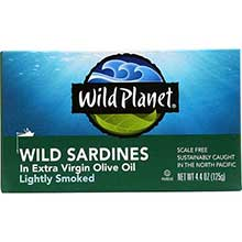 Wild California Sardine in Extra Virgin Olive Oil