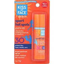 Kiss My Face Hot Spots SPF 30