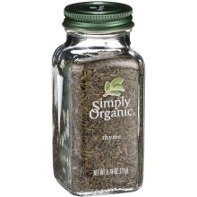 Simply Organic Whole Thyme Leaf 0.78 Ounce