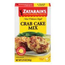 Zatarains Crab Cake Mix - 5.75 ounce