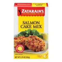 Zatarains Salmon Cake Mix - 5.75 ounce