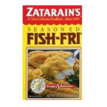 Zatarains fish fry seasoning 12 ounce at foodservicedirect for How to season fish for frying