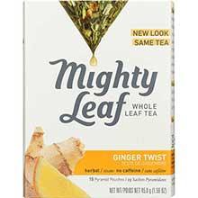 Mighty Leaf Tea Herbal Ginger Twist Herbal Tea