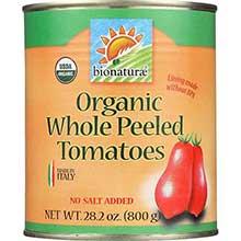 Bionaturae Organic Whole Peeled Tomatoes 28.2 Ounce