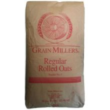 Grain Millers Regular Rolled Oat 1 Pound