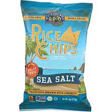 Lundberg Farms Original Sea Salt Rice Chips 6 Ounce