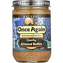 Natural Crunchy Almond Butter