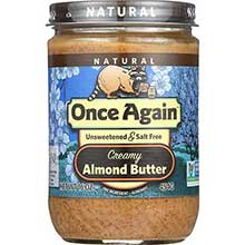 Natural Creamy Almond Butter