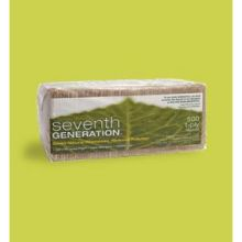 Seventh Generation White Recycled Lunch Napkin