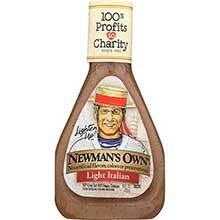 Newmans Own Lighten Up Italian Salad Dressing 16 Ounce