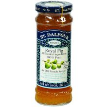St Dalfour Royal Fig All Fruit Preserve 10 Ounce
